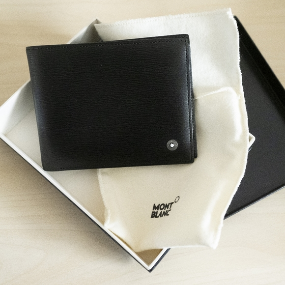 Montblanc Other - Montblanc Westside Bifold Wallet with Money Clip